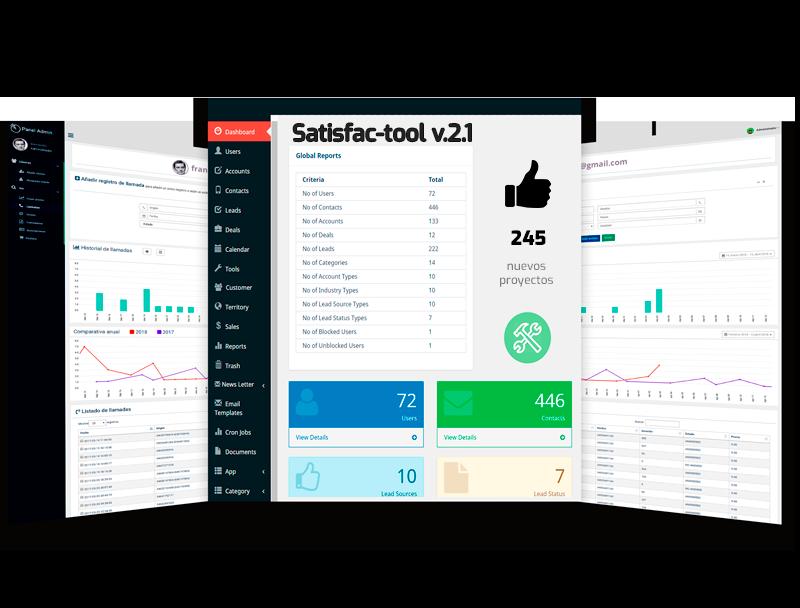 Software de gestión satisfacción