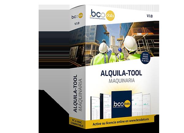 Software Alquiler y gestión Maquinaria
